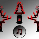 Weihnachts Feuershow