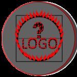 Logo aus brennenden Buchstaben