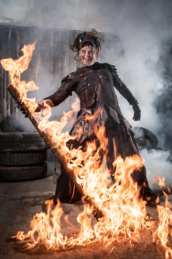 Pyrox im Flammenmeer bei