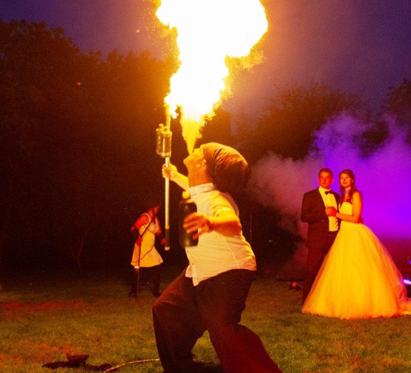 Velen | Sporthotel: Traumhochzeit mit Feuershow | 2018