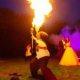 Feuerspucken bei Hochzeit in Velen
