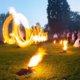 Feuershow bei Hochzeit in Velen
