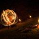 Feuerpaartanz bei Feuershow in Hamm
