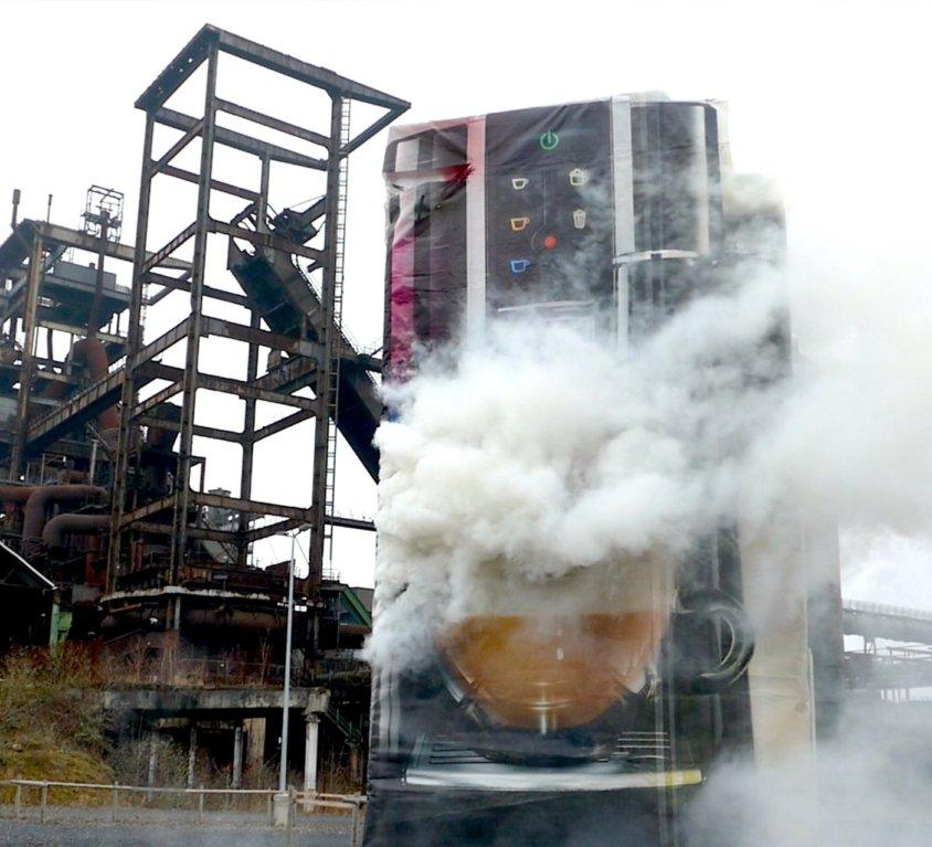 Dortmund | Pyrotechnik für Kunstprojekt | 2020