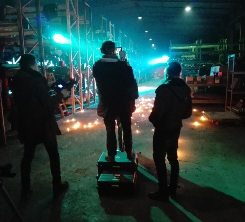 Mettmann | Feurige Special Effects: Musikvideo / Cajé Cajé | 2017