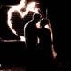 Brautpaar mit Feuerherz
