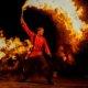Feuershow im Freizeitpark Schloss Beck