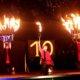 10 Jahre Feuershow in Grefrath beim Romantischen Weihnahctsmakrt
