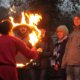 Feuerring in Grefrath beim Romantischen Weihnahctsmakrt