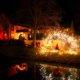 Pyroabschluss in Grefrath beim Romantischen Weihnahctsmakrt