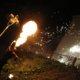 Feuerspucker bei der Museumsnacht Dortmund im Adlerturm