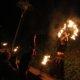 Feuershow bei der Museumsnacht Dortmund im Adlerturm