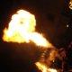 Flammenspektakel bei der Museumsnacht Dortmund im Adlerturm
